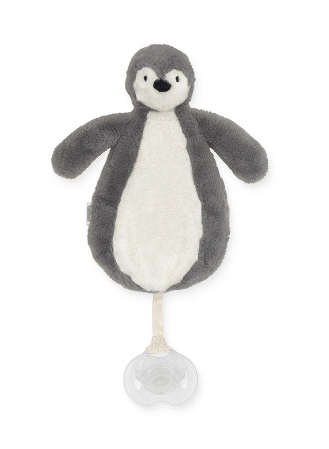 Speendoekje Pinguin - Storm Grey