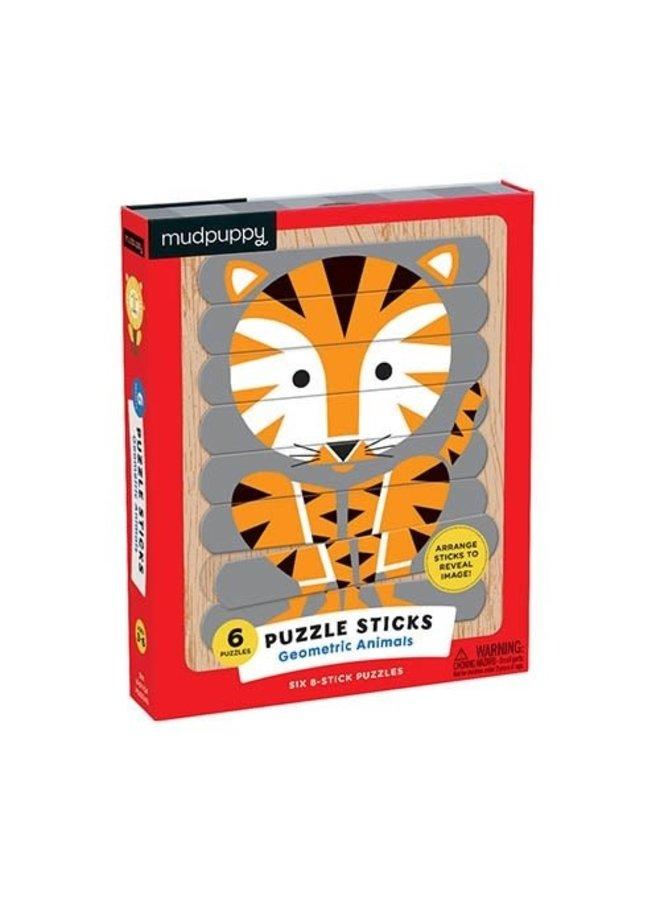 Puzzle Sticks/Geometric Animals