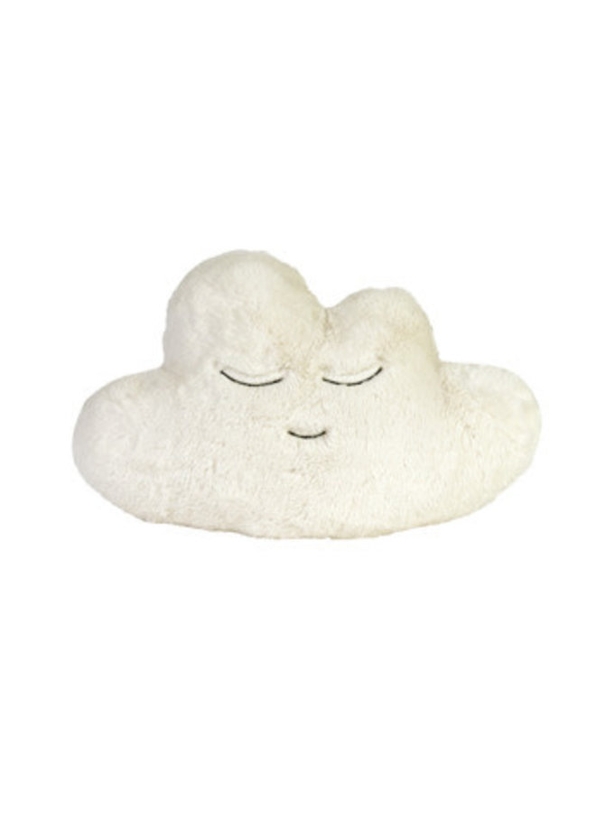 Ivory Cloudy Pillow