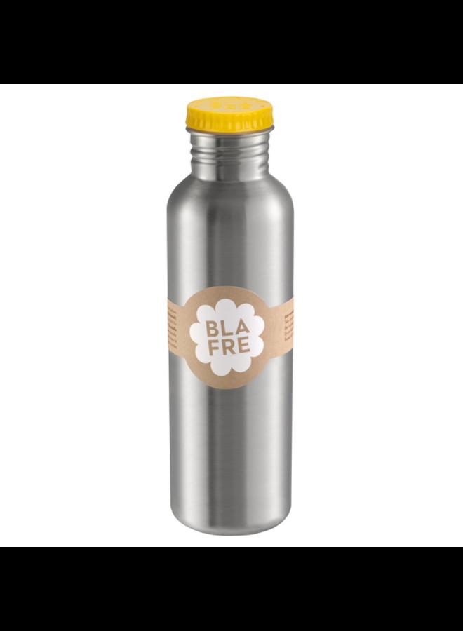RVS Drinkfles 750ml Geel