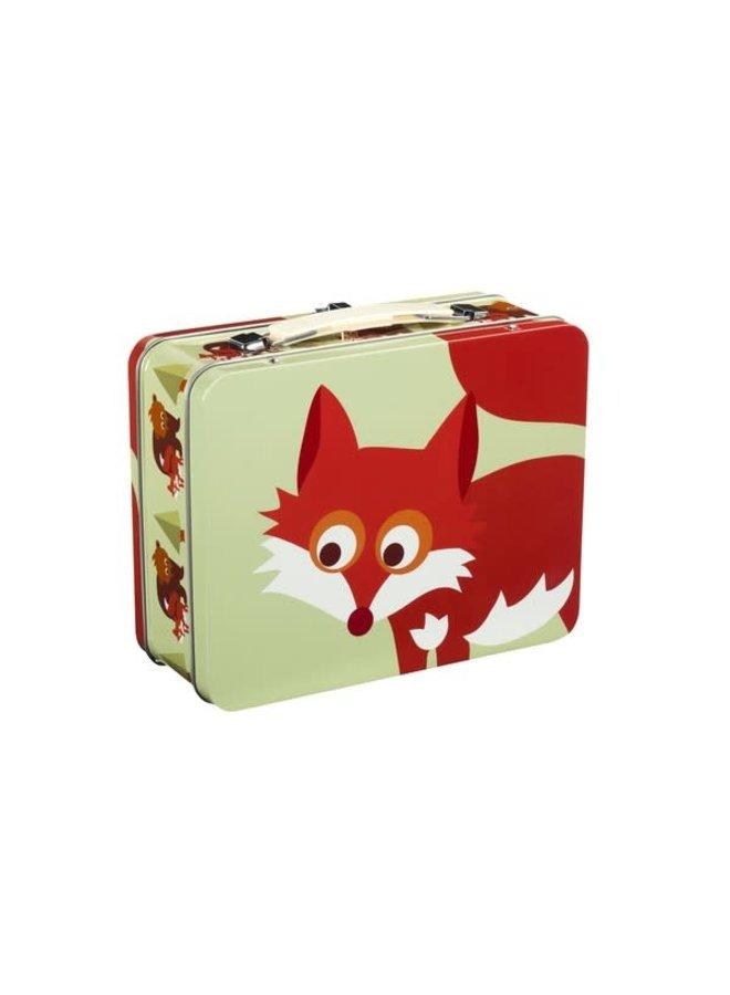 Metalen koffertje - Fox