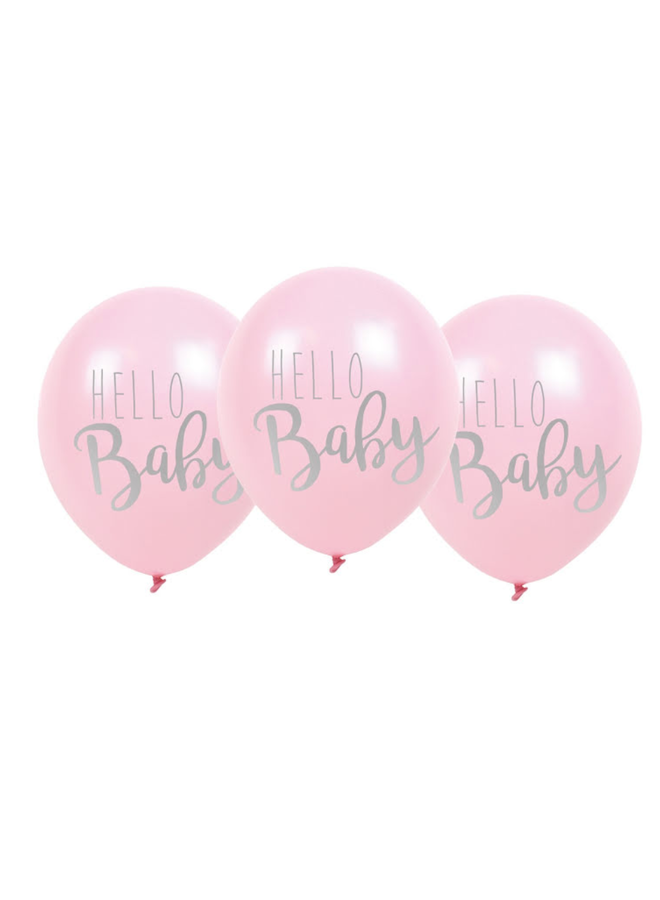 Ballonnen Hello baby