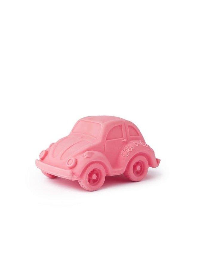 Bad- & Bijtspeeltje Autootje Roze