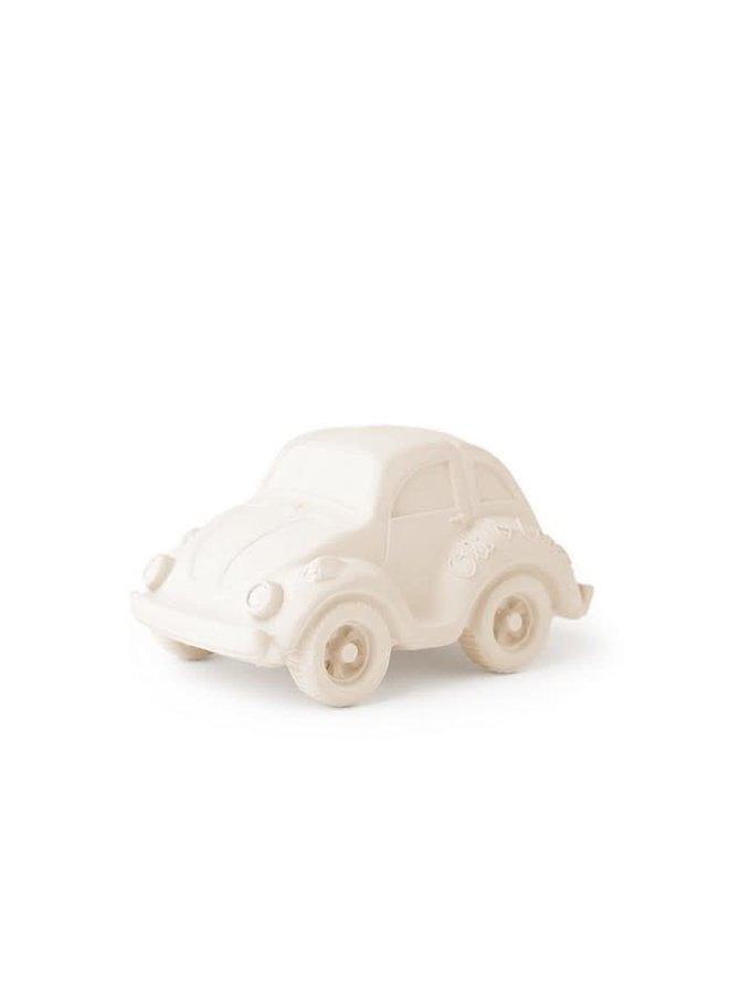 Bad- & Bijtspeeltje Autootje Wit