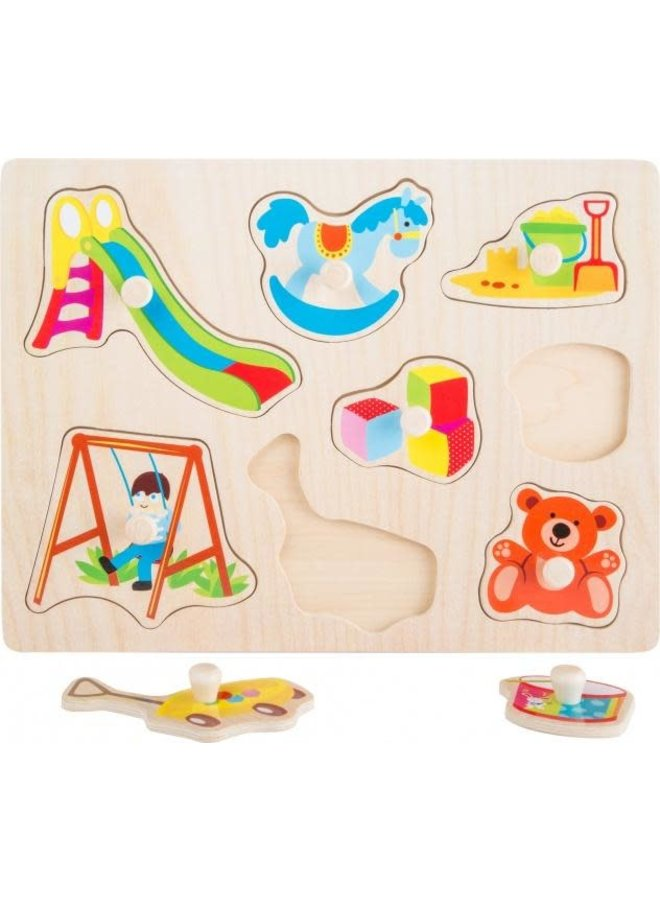 Houten Insteekpuzzel - Speelgoed