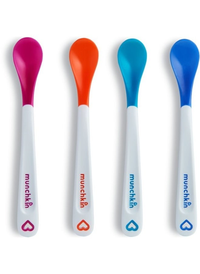 4pk White Hot Safety Spoons