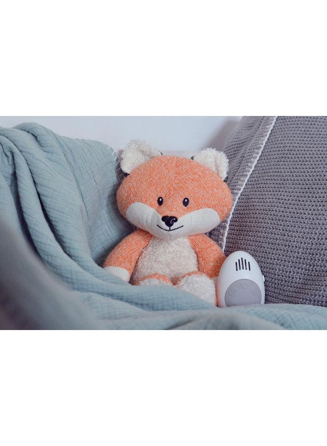 Robin the Fox comforter orange