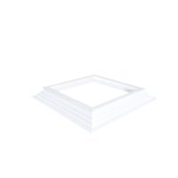 PVC-Opstand 16/20  60 X 60 cm