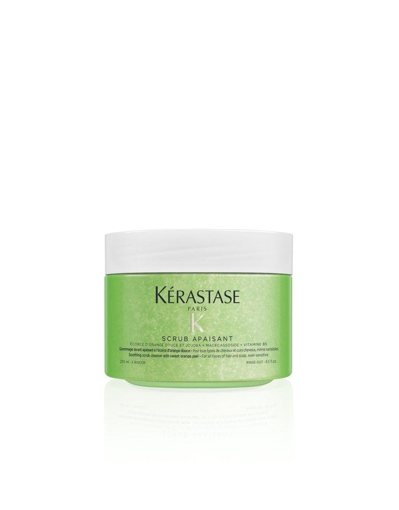 Kérastase Fusio Scrub Apaisant - Kalmerende scrub reiniger voor vet haar en de gevoelige hoofdhuid
