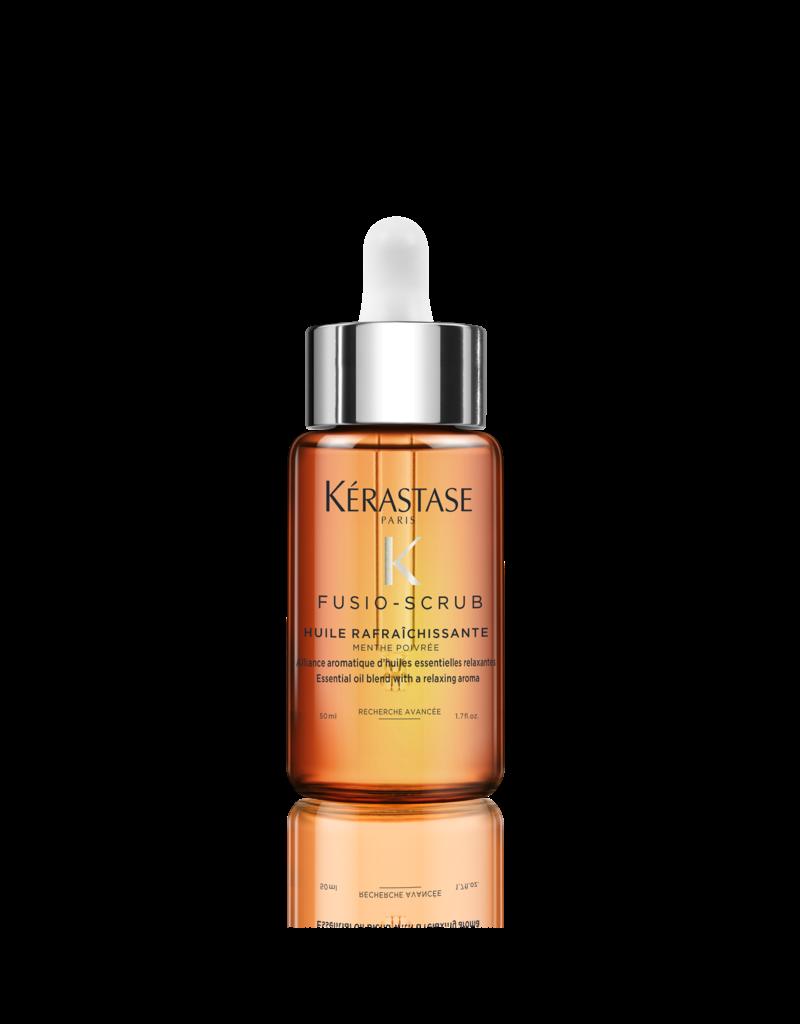 Kérastase Fusio Scrub Oil Rafraîchissante - Aromatische en etherische olie verrijkt met pepermunt - 50 ml