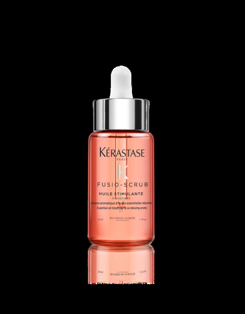 Kérastase Fusio Scrub Oil Stimulante - Aromatische en etherische olie verrijkt met gember, citroen en geranium - 50 ml