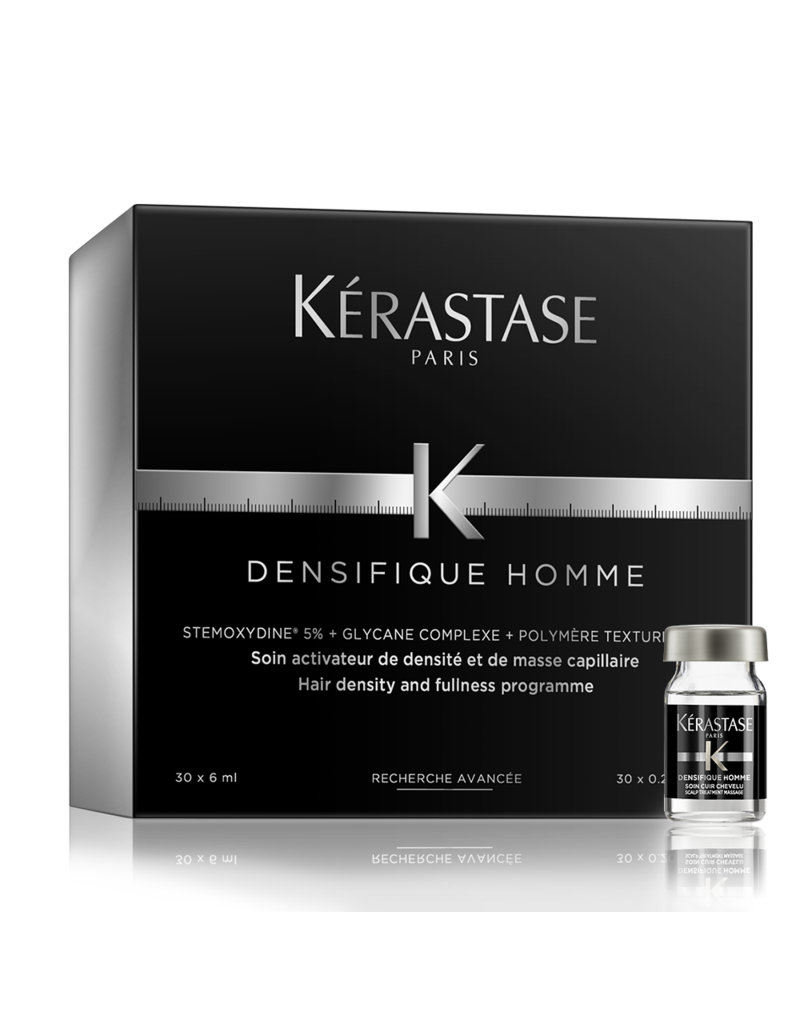 Kérastase Densifique Homme Cure Coffret à 30 - Haarkuur voor mannen voor voller en dikker haar - 30x6ml
