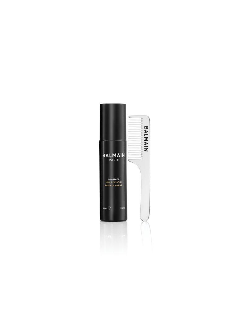 Balmain Beard Oil 30 ML - including transparent beard comb