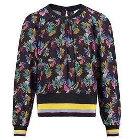 CKS CKS multi-color blouse lange mouw Navy