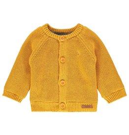Noppies Noppies vest Lou - oker geel