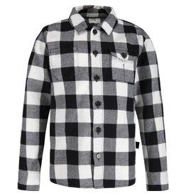 CKS blouse-Black/White