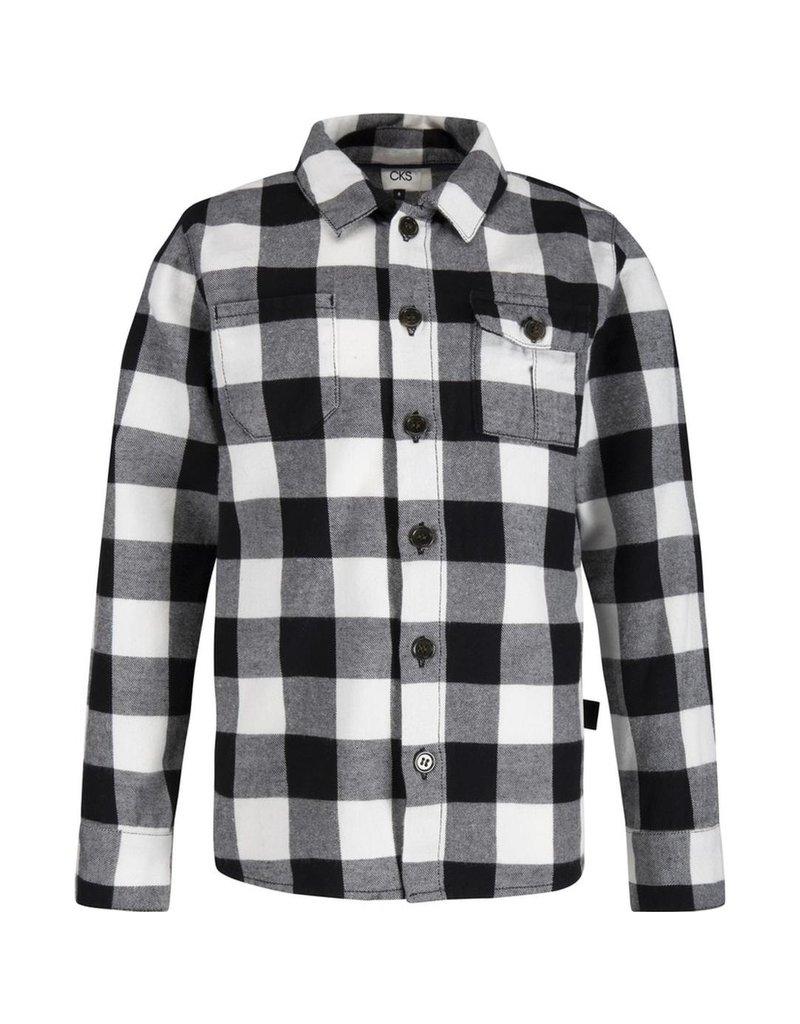 CKS blouse Yavin-black/White-winter 2019