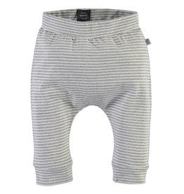 Babyface Babyface sweatpants - Licht grijs met streepje
