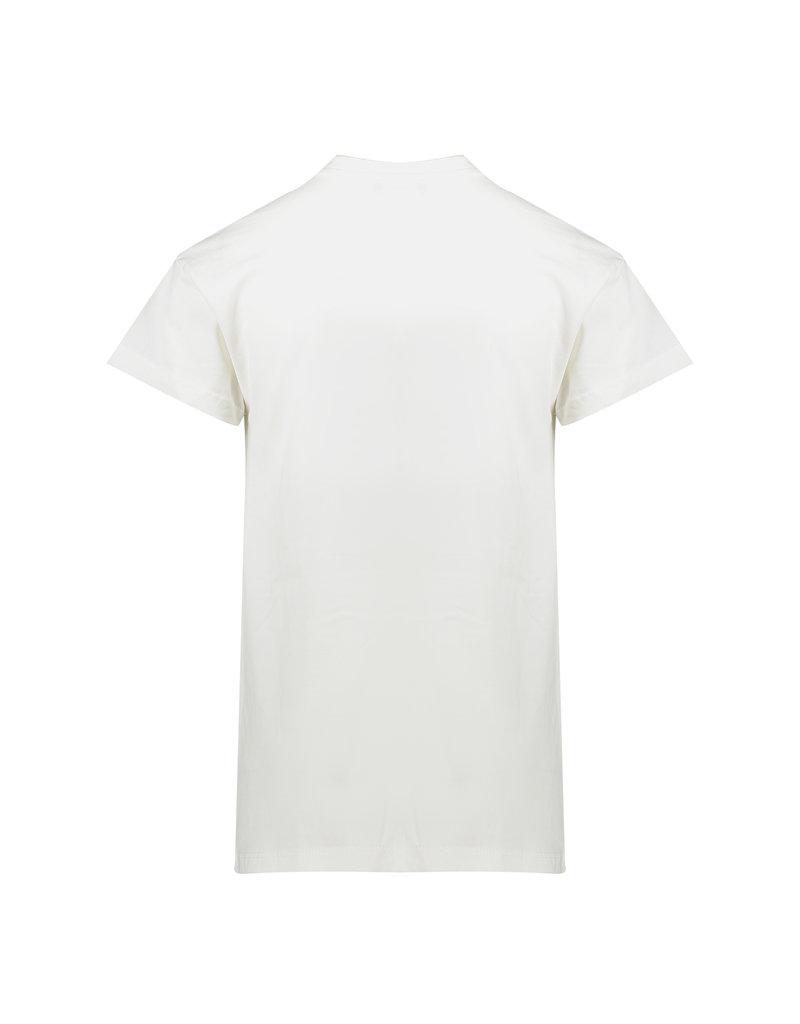 Geisha Geisha-t-shirt-white/neon yellow-summer 2020