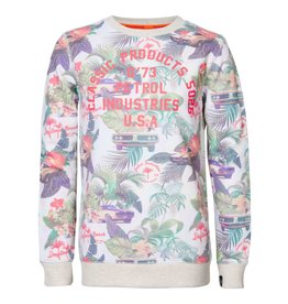 Petrol Industries Petrol Flowerprint sweater