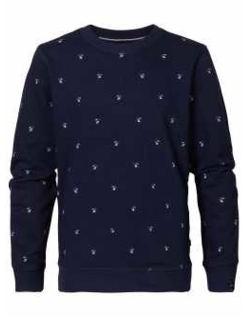 Petrol Industries Petrol sweater Deep Capri - Zomer 2020