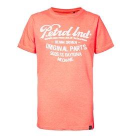 Petrol Industries Petrol T-shirt jongen Fiery Coral