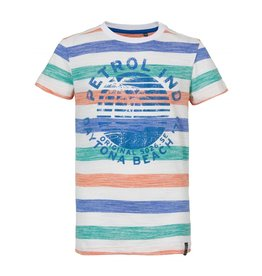 Petrol Industries Petrol T-shirt jongen All-over stripe print