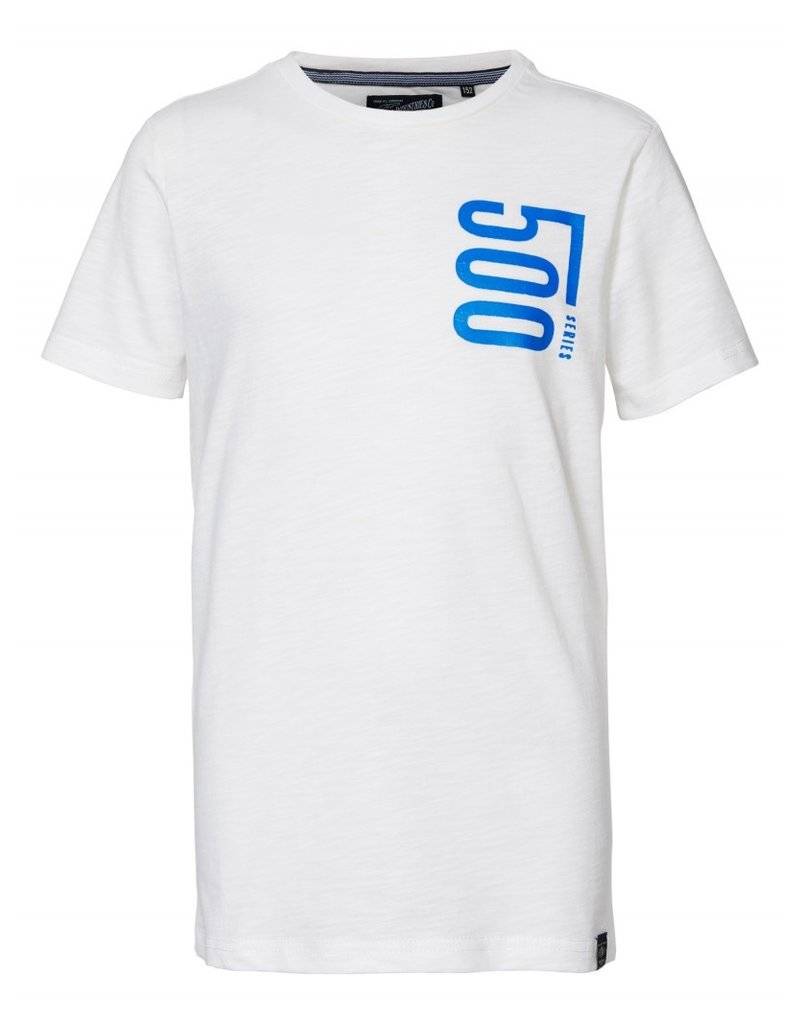 Petrol Industries Petrol T-shirt jongen artwork Chalk white - Zomer 2020
