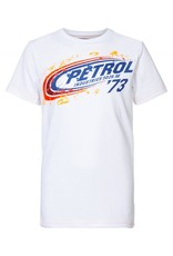 Petrol Industries Petrol T-shirt jongen artwork Bright white - Zomer 2020