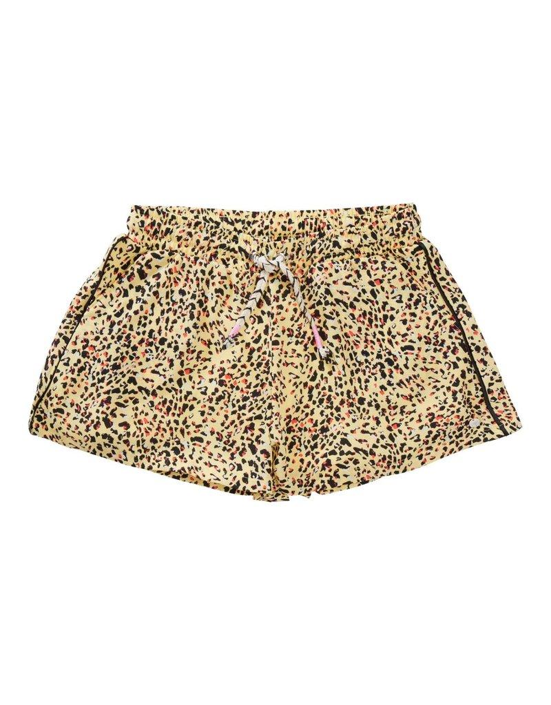 Petrol Industries Petrol shorts Girls Animal Print Mellow Yellow - Zomer 2020
