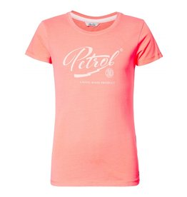 Petrol Industries Petrol T-shirt girls  korte mouw - koraal