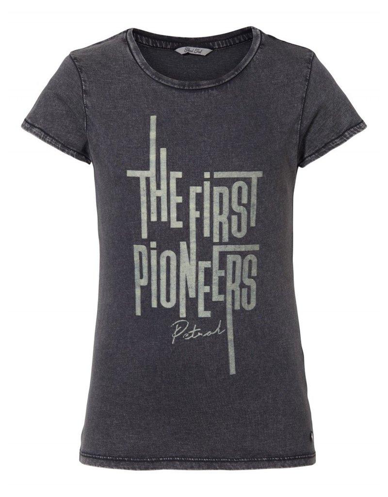 Petrol Industries Petrol T-shirt girls  korte mouw - Zwart - Zomer 2020