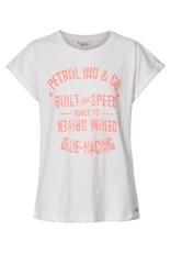 Petrol Industries Petrol T-shirt girls  korte mouw - Wit - Zomer 2020