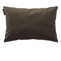 TED SPARKS - Cushion - Crushed Velvet - Charcoal - 40 x 60