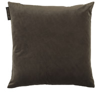 TED SPARKS - Cushion - Crushed Velvet - Ash - 45 x 45