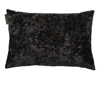 TED SPARKS - Cushion - Crushed Velvet - Charcoal - 45 x 45