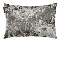 TED SPARKS - Cushion - Pure Velvet - Warm Grey - 45 x 45
