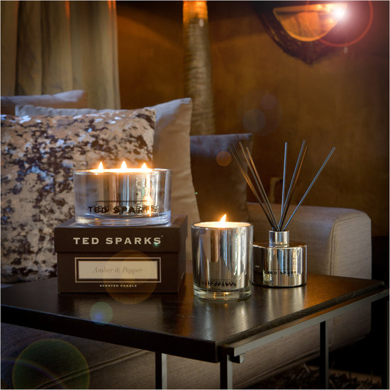 TED SPARKS - Magnum - Metallic Collection - Silver