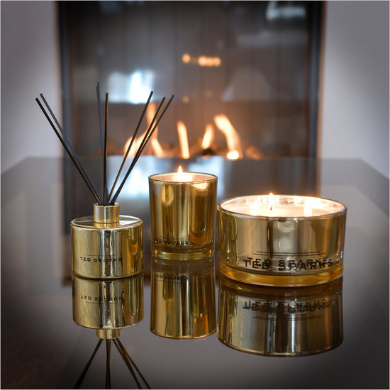 TED SPARKS - Diffuser - Metallic Collection - Gold