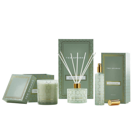 TED SPARKS - Diffuser - Green Tea & Sage