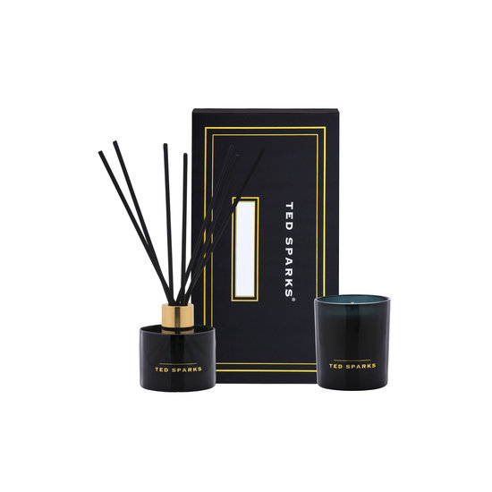 TED SPARKS TED SPARKS - Candle & Diffuser Gift Set M-Wild Rose & Jasmin