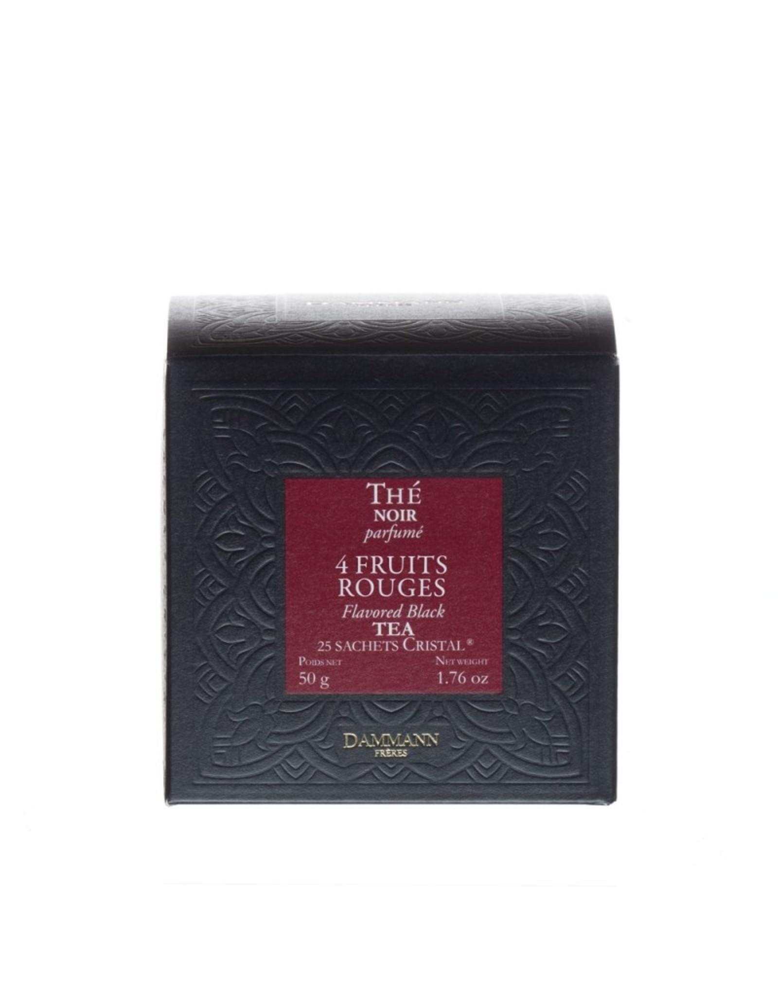 Dammann '4 Fruits Rouge' Flavoured Black tea