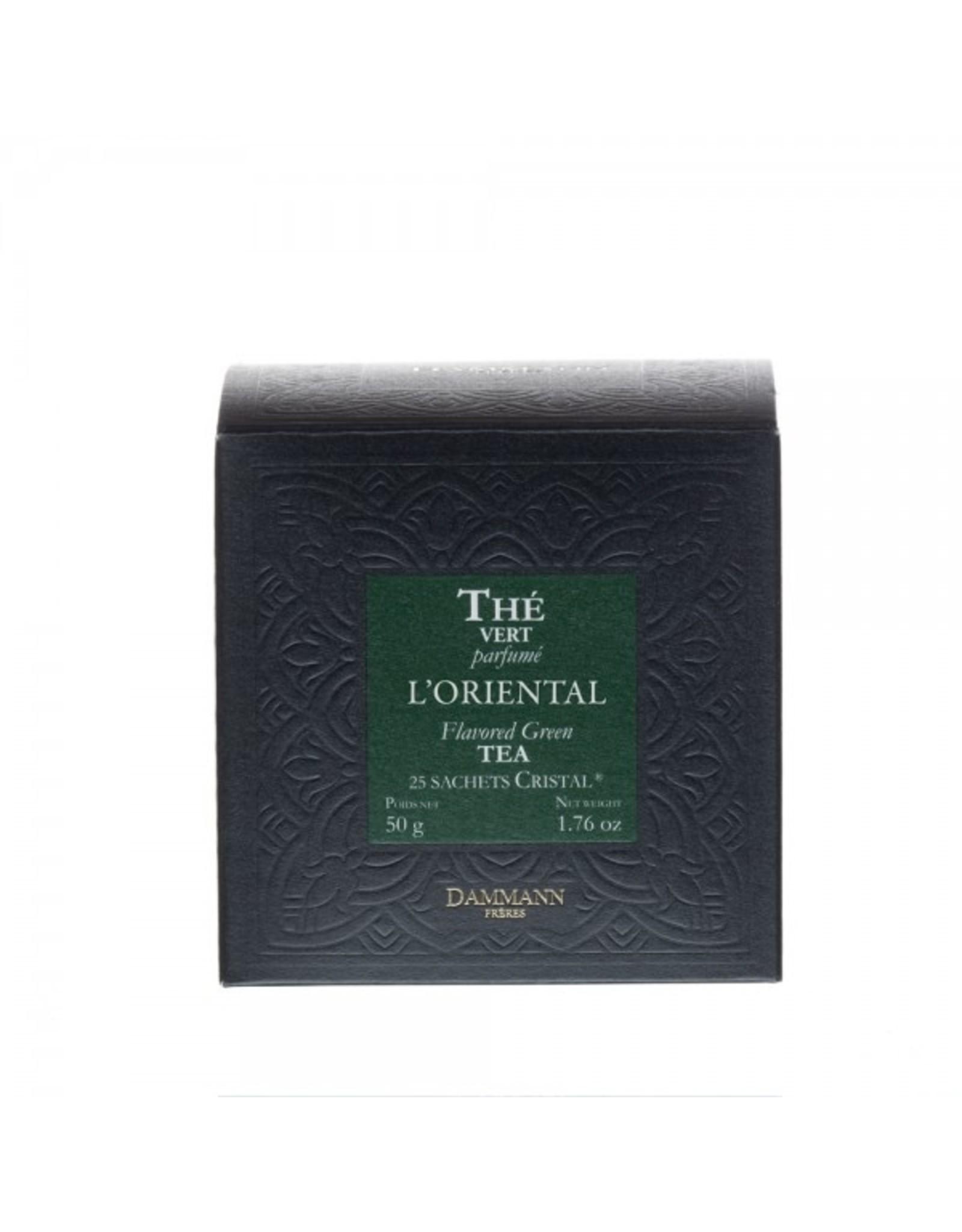 Dammann 'L'Oriëntal' Flavoured Green tea