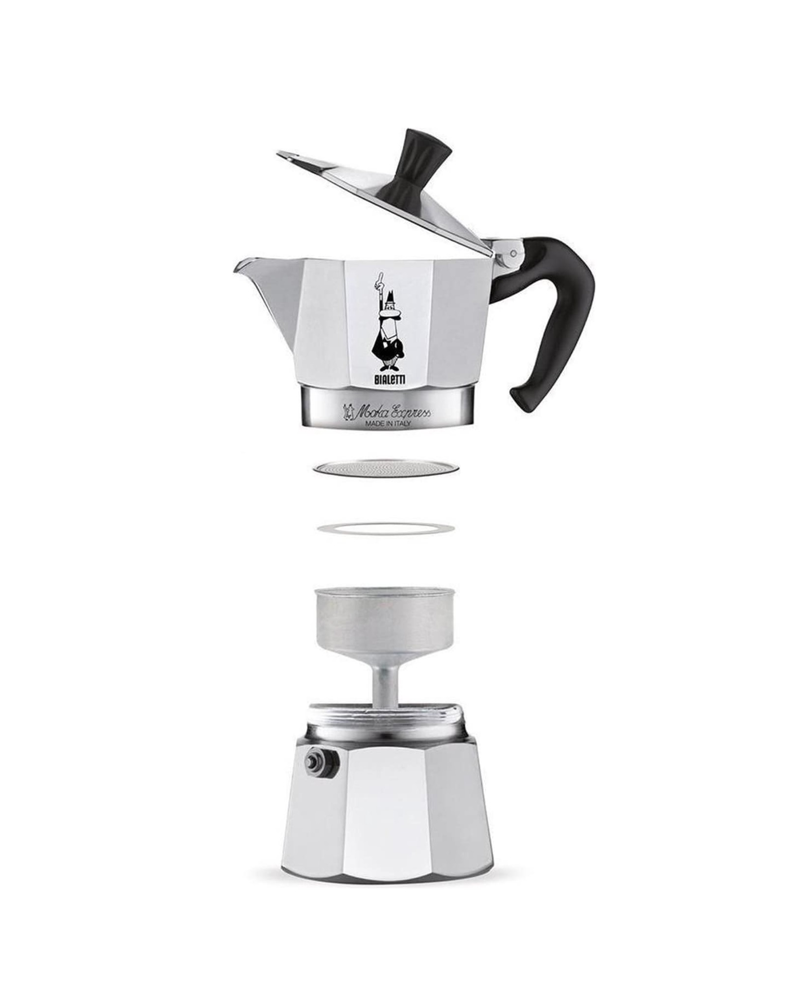 Bialetti Bialetti Aluminium 4 cups