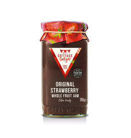 Cottage Delight Original strawberry whole fruit jam
