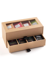 "Dammann ""7/7"" GIFT SET - 2 DRAWERS KRAFT  CASE"