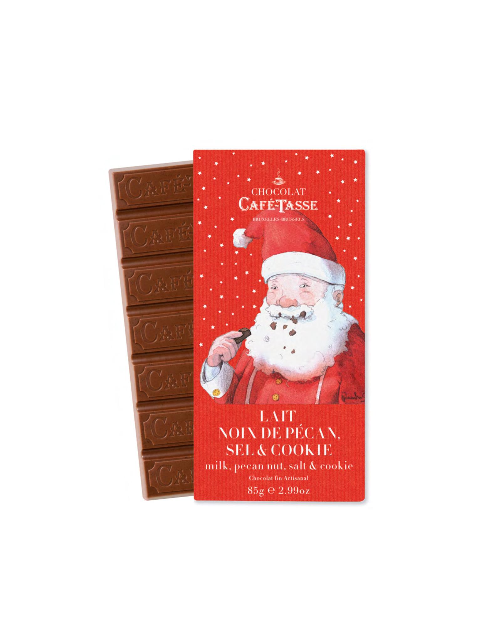 Café-Tasse CHOCOLADEREEP - MELKCHOCOLADE - PECANNOTEN, ZOUT & COOKIES