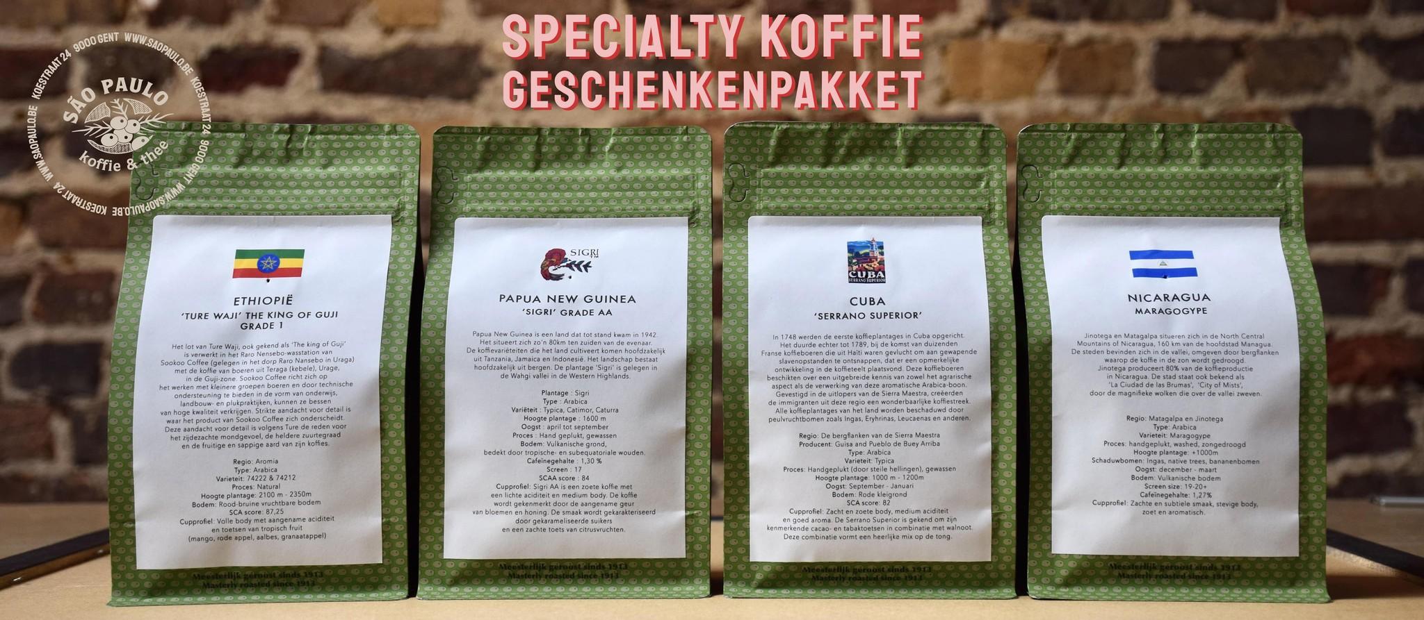 geschenkpakket koffie