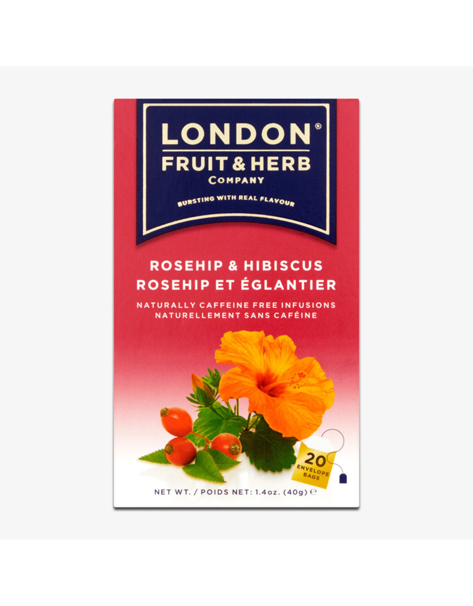 London Fruit & Herb Rosehip & Hibiscus