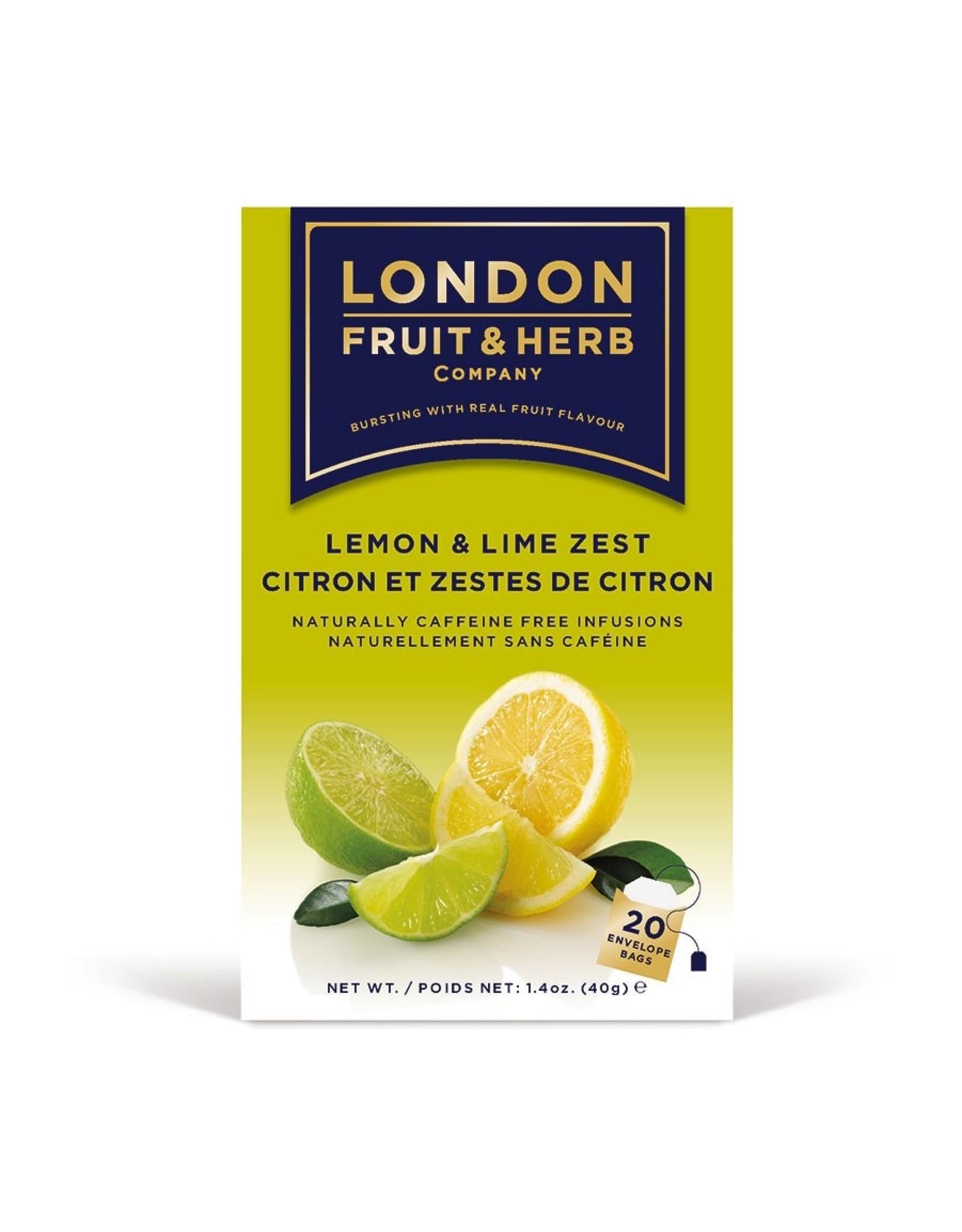 London Fruit & Herb Lemon & Lime Zest